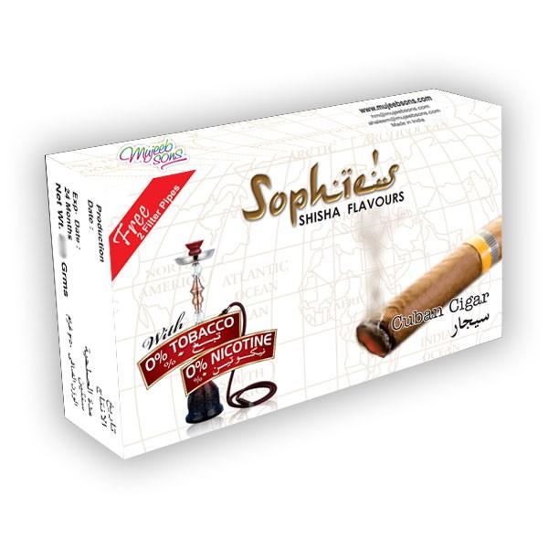 Nargile Arome Sophies Sophies aroma za nargile Cuban Cigar 50gr