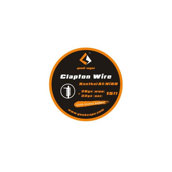 Elektronske cigarete DIY Geek Vape Clapton žica za grejače Ni80 26ga + KA1 32ga - 15ft