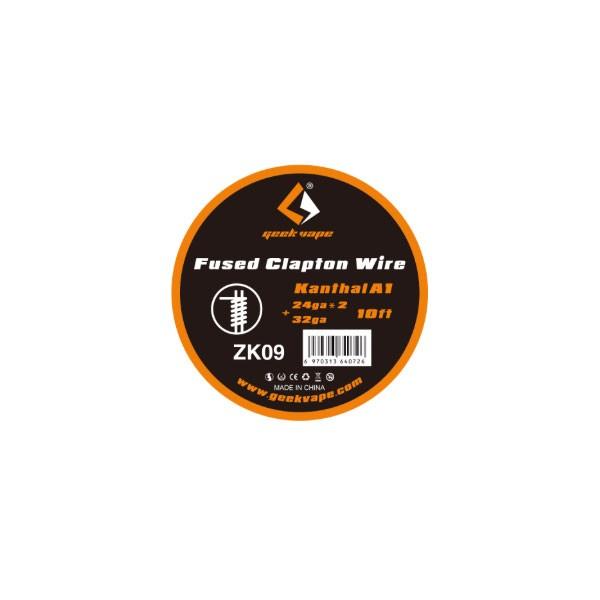 Elektronske cigarete DIY Geek Vape Kantal Fused Clapton žica za grejače 24ga x 2 + 32ga - 10ft