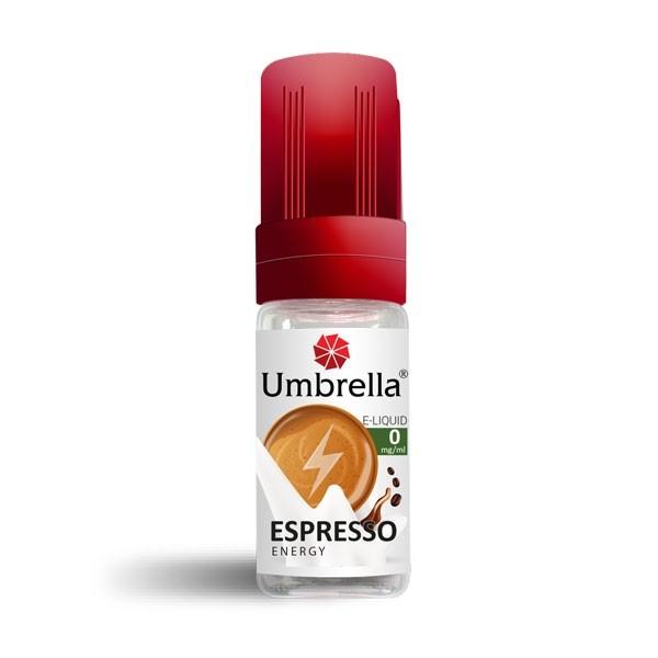 E-Tečnosti Umbrella Umbrella Espresso Energy 10ml