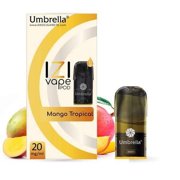 Elektronske cigarete IZI VAPE POD Umbrella Umbrella IZI POD Mango Tropical