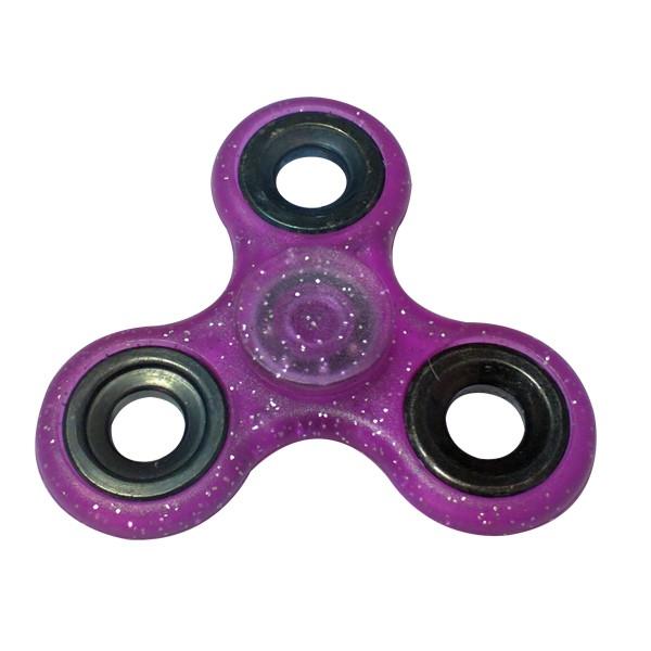 Spineri Umbrella Fidget Spinner Color Mix Ljubičasti sa šljokicama