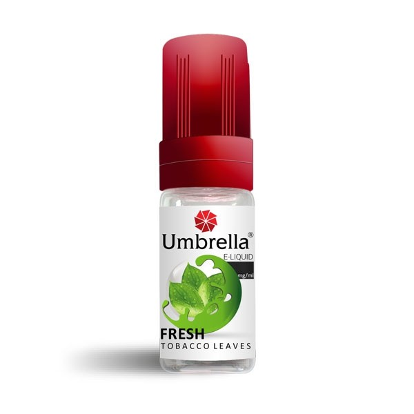 Elektronske cigarete Tečnosti Umbrella Umbrella Fresh Tobacco Leaves 10ml