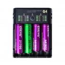 Cveyg Q4 smart LED punjač za 18650 baterije