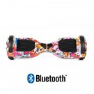 Hoverboard S36 BlueTooth URBAN RED SKULL