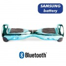 Hoverboard S36 BlueTooth CHROME BLUE