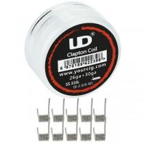 E-cigarete UD UD Clapton Coil 0,5 ohm - 10 komada