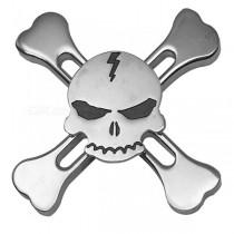 Spineri Umbrella Fidget Spinner Skull Srebrni