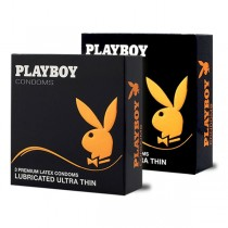 Playboy Kondomi Playboy Playboy kondom Lubricated Ultra Thin - 3 komada