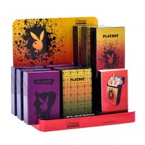 Upaljači Oprema Playboy Metalna paklica za cigarete Playboy