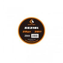 Elektronske cigarete DIY Geek Vape SS316L žica za grejače 28ga - 30ft