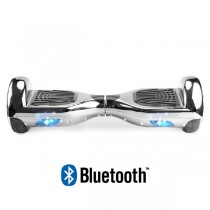 Hoverboard Koowheel Hoverboard S36 BlueTooth CHROME SILVER