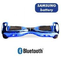 Hoverboard Koowheel Hoverboard S36 BlueTooth CHROME LIGHT BLUE