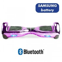 Hoverboard Koowheel Hoverboard S36 BlueTooth CHROME LIGHT PURPLE
