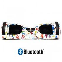 Default Category Koowheel Hoverboard S36 BlueTooth URBAN GRAFFITI WHITE
