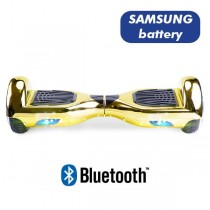 Hoverboard Koowheel Hoverboard S36 BlueTooth CHROME Gold