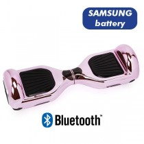 Hoverboard Koowheel Hoverboard S36 BlueTooth CHROME PINK LIGHT