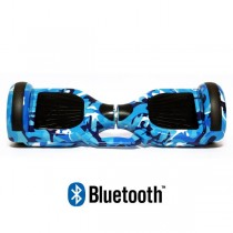 Hoverboard Modeli Koowheel HOVERBOARD S36 BLUETOOTH CAMOUFLAGE BLUE
