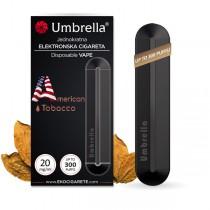 Elektronske cigarete Jednokratne Umbrella Jednokratna e-cigareta American Tobacco 20mg