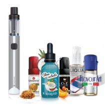 Elektronske cigarete Paketi Umbrella AIO Mini sivi + Tečnost