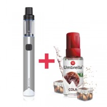 Elektronske cigarete Paketi Umbrella AIO Mini sivi + Umbrella Cola 30ml 0mg
