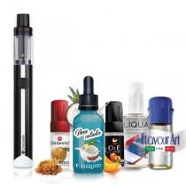 Elektronske cigarete Paketi Umbrella AIO Mini crni + Tečnost