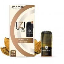 E-cigarete Umbrella Umbrella IZI POD American Tobacco