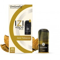 E-cigarete Umbrella Umbrella IZI POD Gold Tobacco