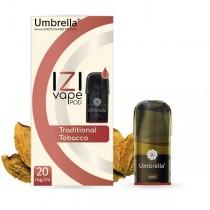 E-cigarete Umbrella Umbrella IZI POD Traditional Tobacco