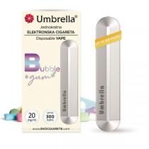 Elektronske cigarete Jednokratne Umbrella Jednokratna e-cigareta Bubble Gum 20mg