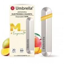 Elektronske cigarete Jednokratne Umbrella Jednokratna e-cigareta Mango Tropical 20mg