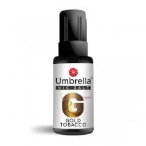 E-Tečnosti Umbrella NicSalt Umbrella NicSalt Umbrella NicSalt Gold Tobacco 30ml
