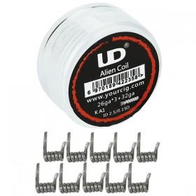 Elektronske cigarete DIY UD UD Alien Coil 0.15 ohm - 10 komada