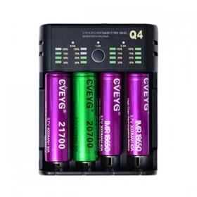 Elektronske cigarete Delovi Cveyg Cveyg Q4 smart LED punjač za 18650 baterije