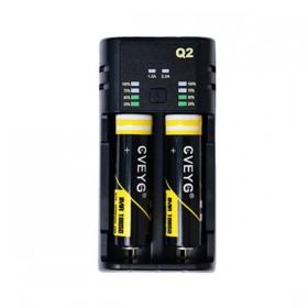 Elektronske cigarete Delovi Cveyg Cveyg Q2 smart LED punjač za 18650 baterije