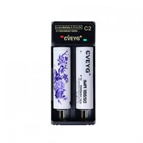 Elektronske cigarete Delovi Cveyg Cveyg C2 LED punjač za 18650 baterije