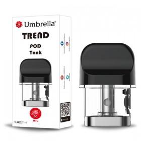 Elektronske cigarete Delovi Umbrella POD tank za Umbrella Trend POD DC 1,4 ohm MTL