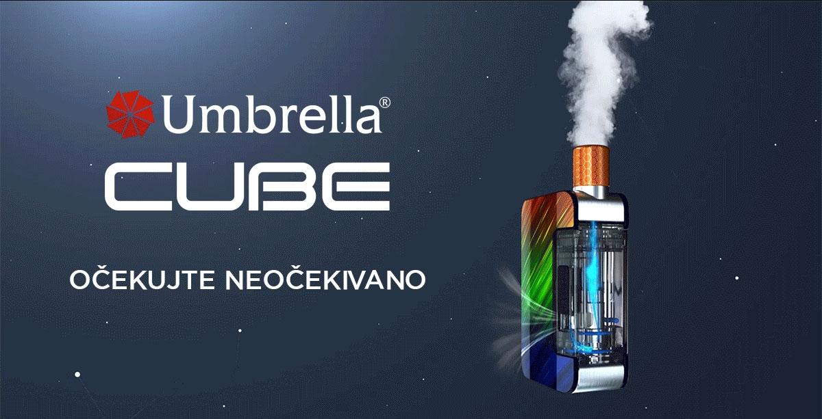 Umbrella CUBe elektronska cigareta