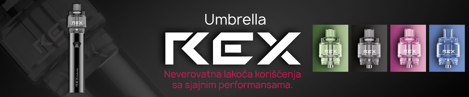 Umbrella REX elektronska cigareta