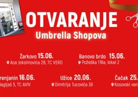 Novi Umbrella shopovi!