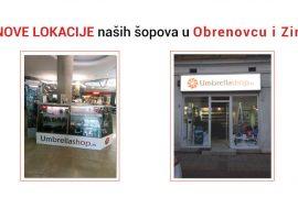 Nove lokacije shopova u Obrenovcu i Ziri
