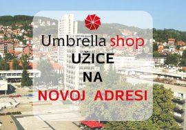 Umbrella u Užicu na novoj lokaciji!