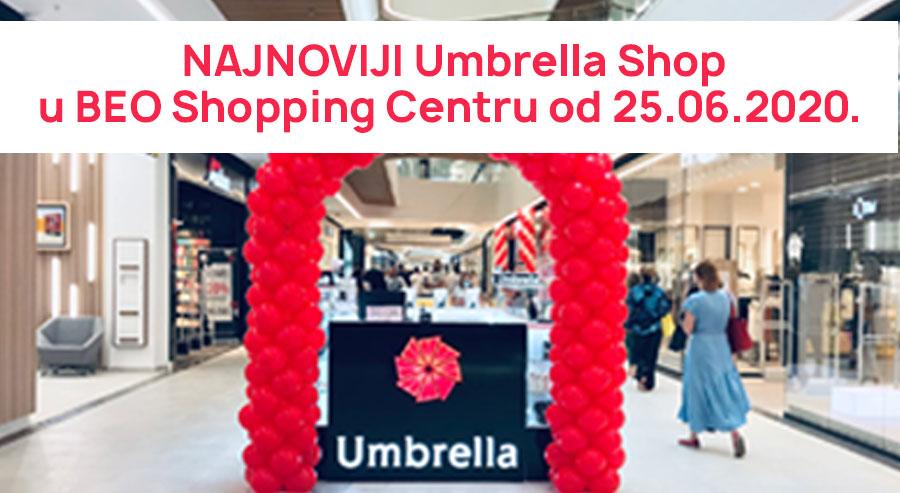 Umbrella Shop u BEO Shopping Centru!