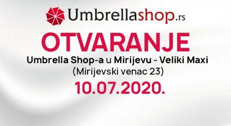 Novi Umbrella Shop u Mirijevu!