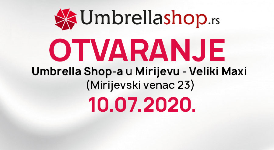 Novi Umbrella Shop u Mirijevu!