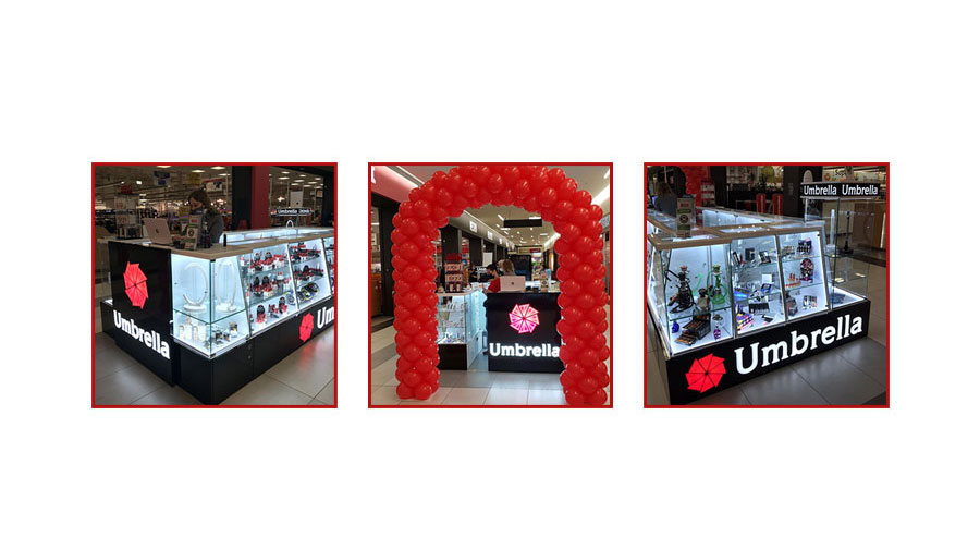 Novi Umbrella Shop u Mercator Centru na Novom Beogradu