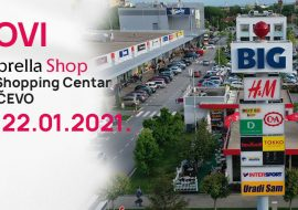 Novi Umbrella shop u BIG Shopping Centru Pančevo
