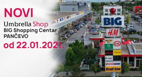 Novi Umbrella shop u BIG Shopping Centru Pančevo
