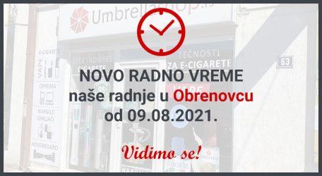 Novo radno vreme u Obrenovcu